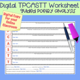 Distance Learning or In-Person: TPCASTT Poetry Analysis Di