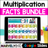 Google Classroom x2 - x12 Multiplication Facts Practice Slides