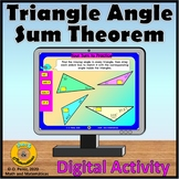 Triangle Angle Sum Theorem Digital Activity | Distance Learning
