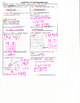 Distance Formula, Midpoint Formula, & Equations of Lines F