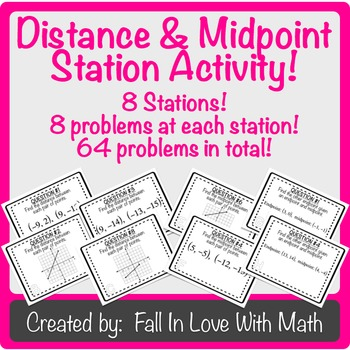 Distance & Midpoint Station Activity!