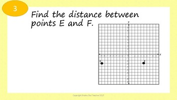 Distance Task Cards