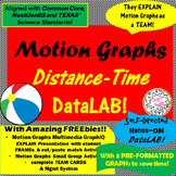 Distance-Time GRAPH-TEAM DataLAB! with FREE sample of MotionGraphUNIT!