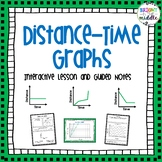 Distance-Time Graph Lesson with Interactive and Guided Notes: 7.P.1.3 & 7.P.1.4
