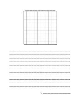 Distance-Time Graph Story Template