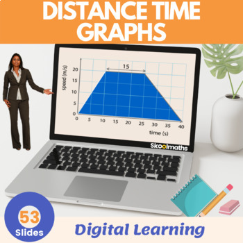 Distance-Time Graphs - 7th-8th grades, (UK Year 8-9)