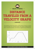 Distance Traveled from a Velocity Graph