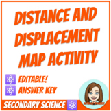 Distance and Displacement Map Practice Activity