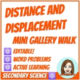 Distance and Displacement Mini Gallery Walk