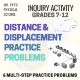 Distance and Displacement - Practice Problems