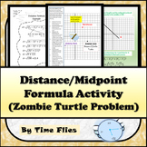 Distance and Midpoint Activity {Zombie Turtle Problem Included}