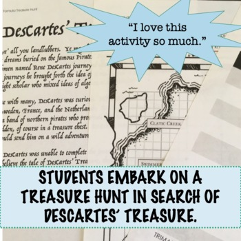 Distance and Midpoint Formula Treasure Hunt Activity for Geometry