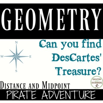 Distance and Midpoint Formula Treasure Hunt Activity