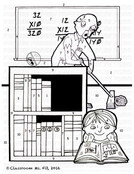 Distance and Midpoint Formulas ~ Zombie Coloring Page