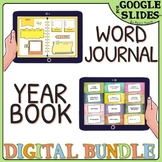 Distance learning BUNDLE - YEARBOOK & word JOURNAL for Goo
