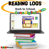 Distance learning Digital Reading Logs | BTS | Anytime