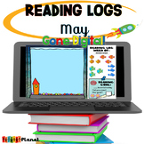 Digital Reading Logs| Distance learning | May Activities |