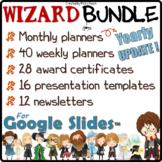 Distance learning WIZARD BUNDLE for Google Slides™ FREE UP