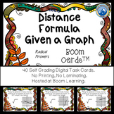 Distance of Segments from Graphs Boom Cards--Digital Task Cards