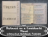 Distance on a Coordinate Plane Foldable (Midpoint and Fractional Distance)