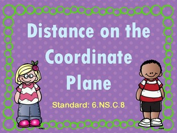 Distance on the Coordinate Plane