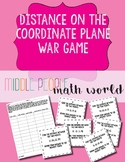 Distance on the Coordinate Plane War Game