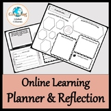 Distance or hybrid learning reflection and planner