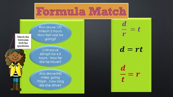 Distance Formula Review for Sixth Grade