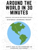 Around The World In 30 Minutes (Distances Between Points)