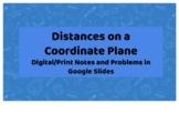 Distances on a Coordinate Plane