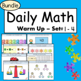 Daily Math Warm Ups - Math Talks for Primary - Distant Lea