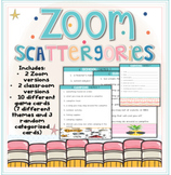 Distant Learning Zoom Scattergories