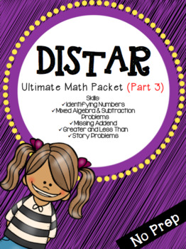 Distar-Ultimate Math Packet (Part 3)