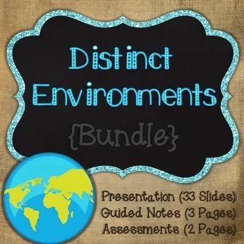 Distinct Environment - Habitats {Bundle}