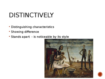 Distinctively Visual English  Opening Lesson