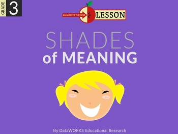 Distinguish Shades of Meaning