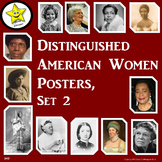 Distinguished American Women Posters, Set 2