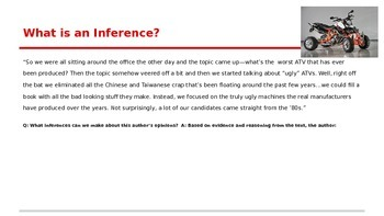 Distinguishing Between Supported and Unsupported Inferences