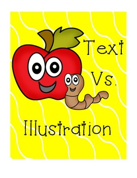 Distinguishing Information in Illustrations and Text
