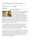 Distinguishing Point of View Informational Passages about Pets