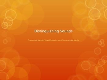 Distinguishing Sounds Game