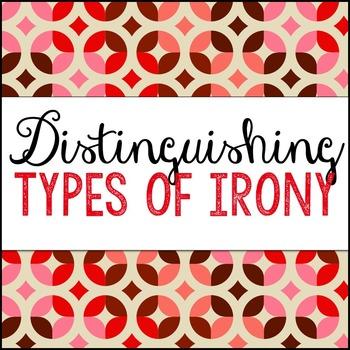 Distinguishing Types of Irony