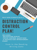 Distraction Control Plan: Teaching Focus and Reaching Excellence