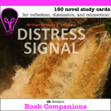 Distress Signal by Mary E. Lambert Question Cards for Clas