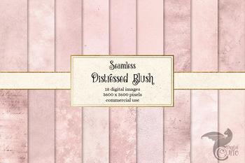 Distressed Blush Pink Textures
