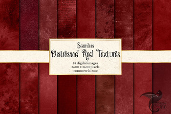 Distressed Red Textures