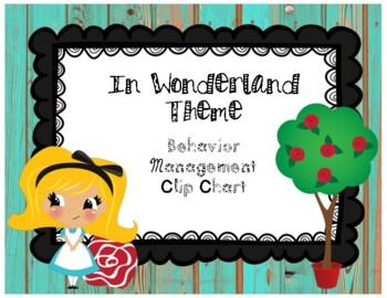 Distressed Wood & Wonderland Theme Behavior Clip Chart