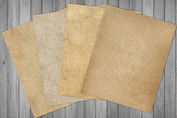 Distressed Writing Paper Grunge Notebook Printable Paper