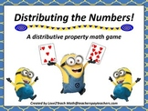 Distributing the Numbers!  A Distributive Property Game