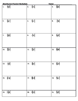 Distribution Practice Worksheet